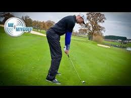 golf ball below your feet