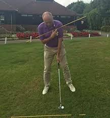 golf uphill lie