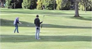 winter pitch and putt